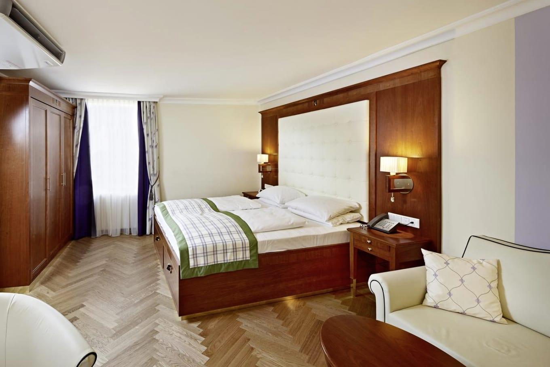Hotel elefant guest room salzburg