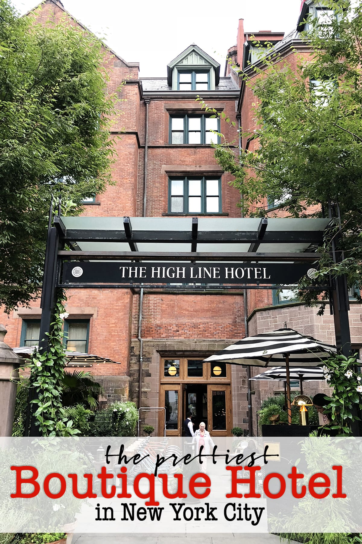The prettiest boutique hotel in new york city