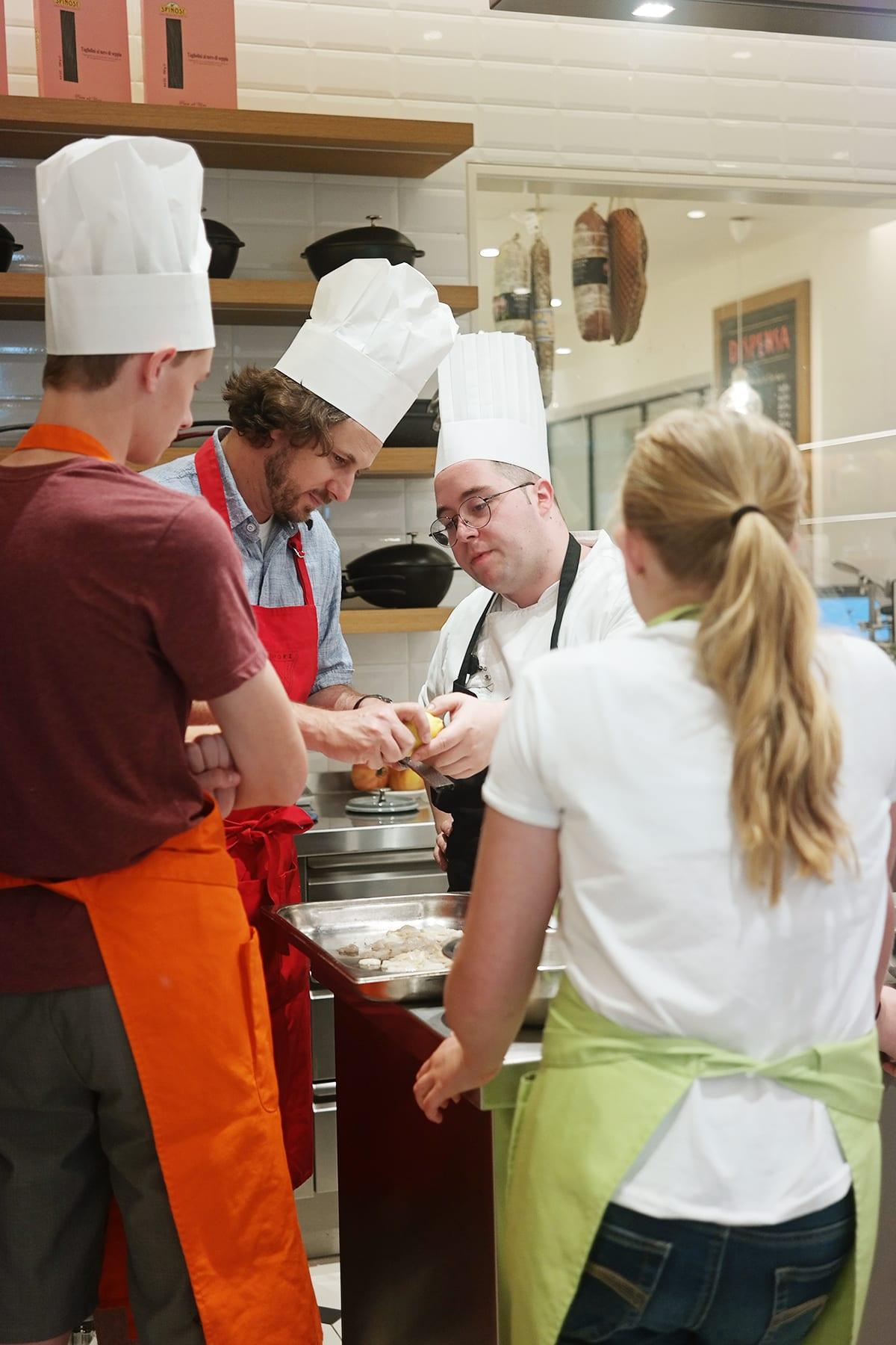 Sapori cooking school 6