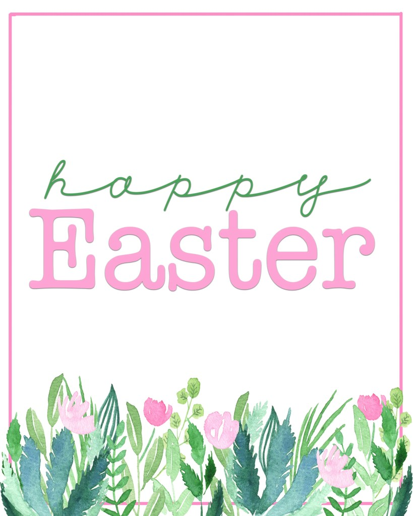 Happy Easter Printables : Free Spring Printables