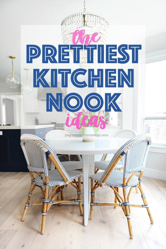 10 of the Prettiest Breakfast Nook Ideas