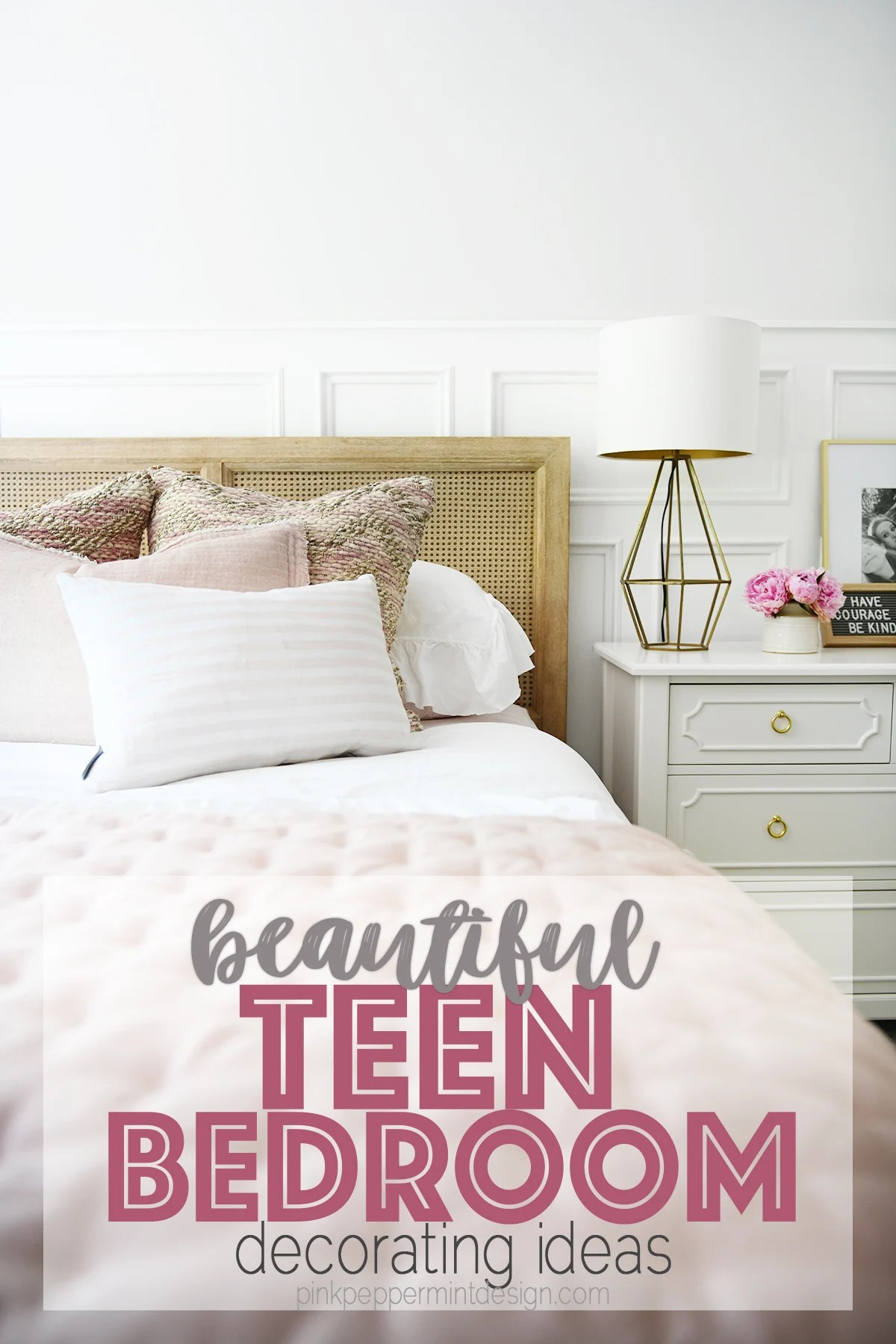 Cute Room Ideas for a Teenage Girl: Teen Bedroom Before and After