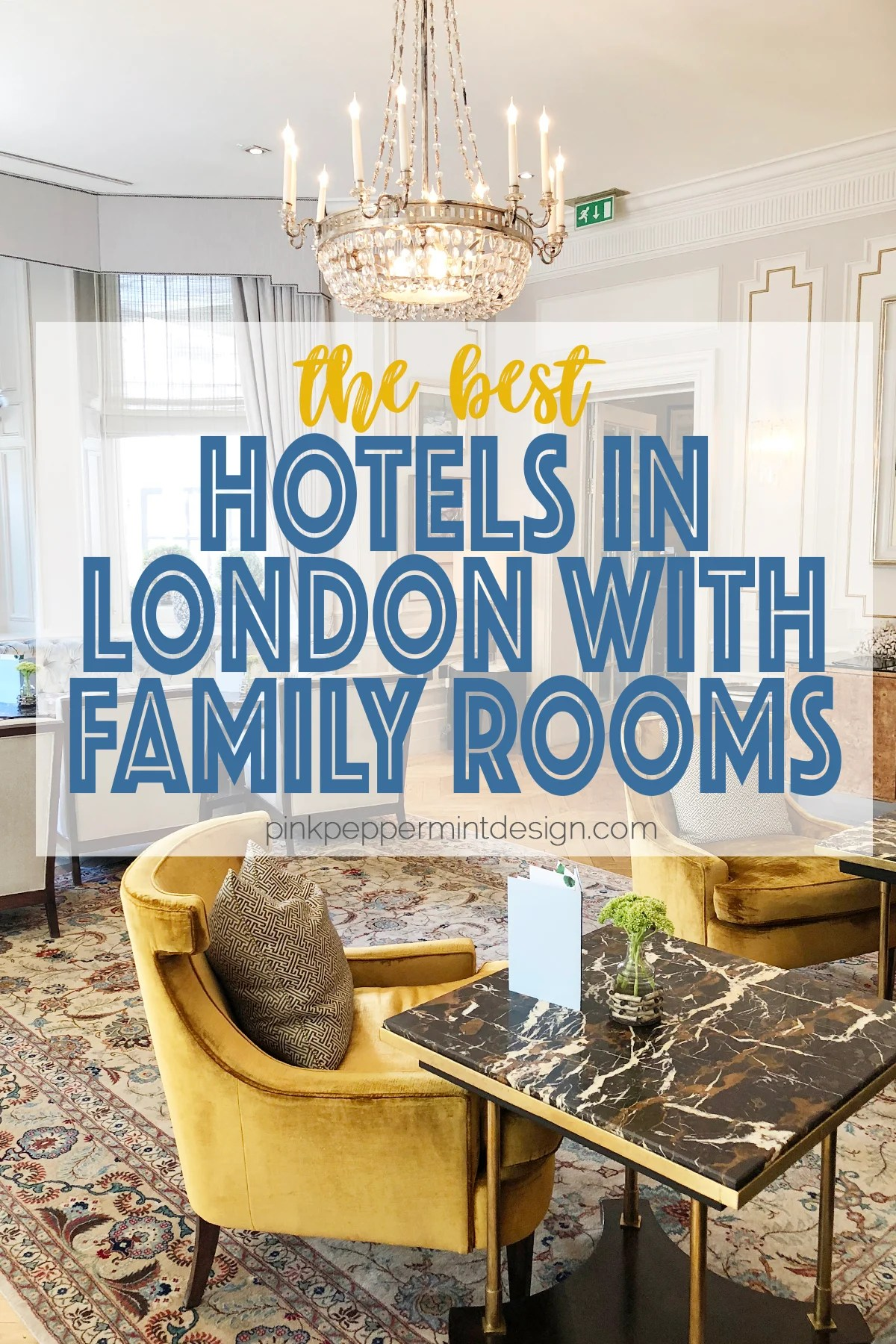 Hotels in London with Family Rooms : The Kensington Hotel London