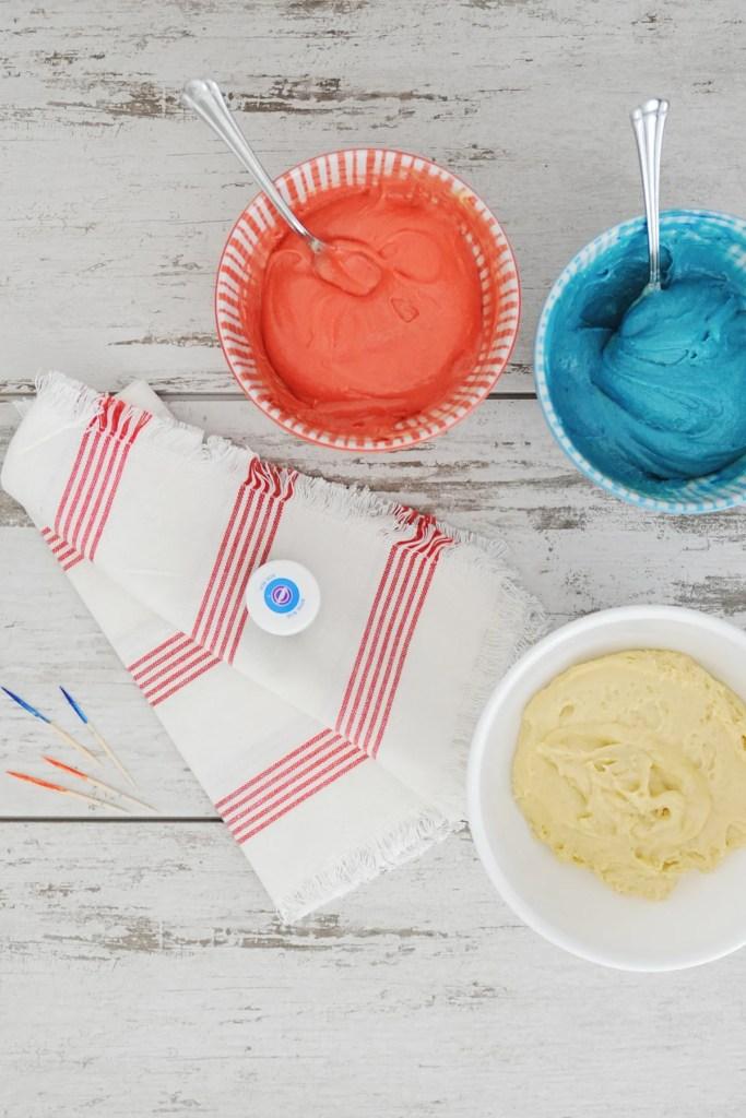 Tie dye cake mix 3