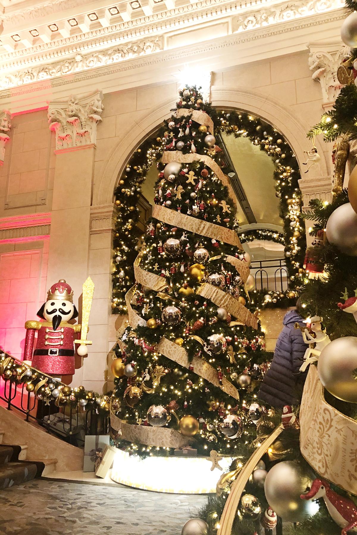 The peninsula nyc christmas decorations