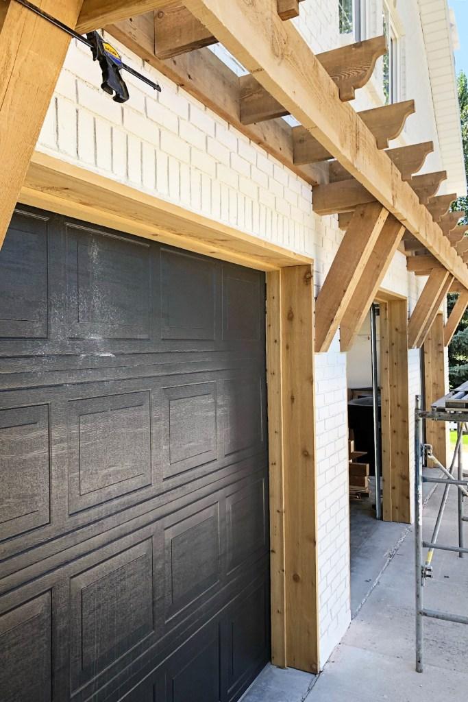 Midway modern farmhouse pergola