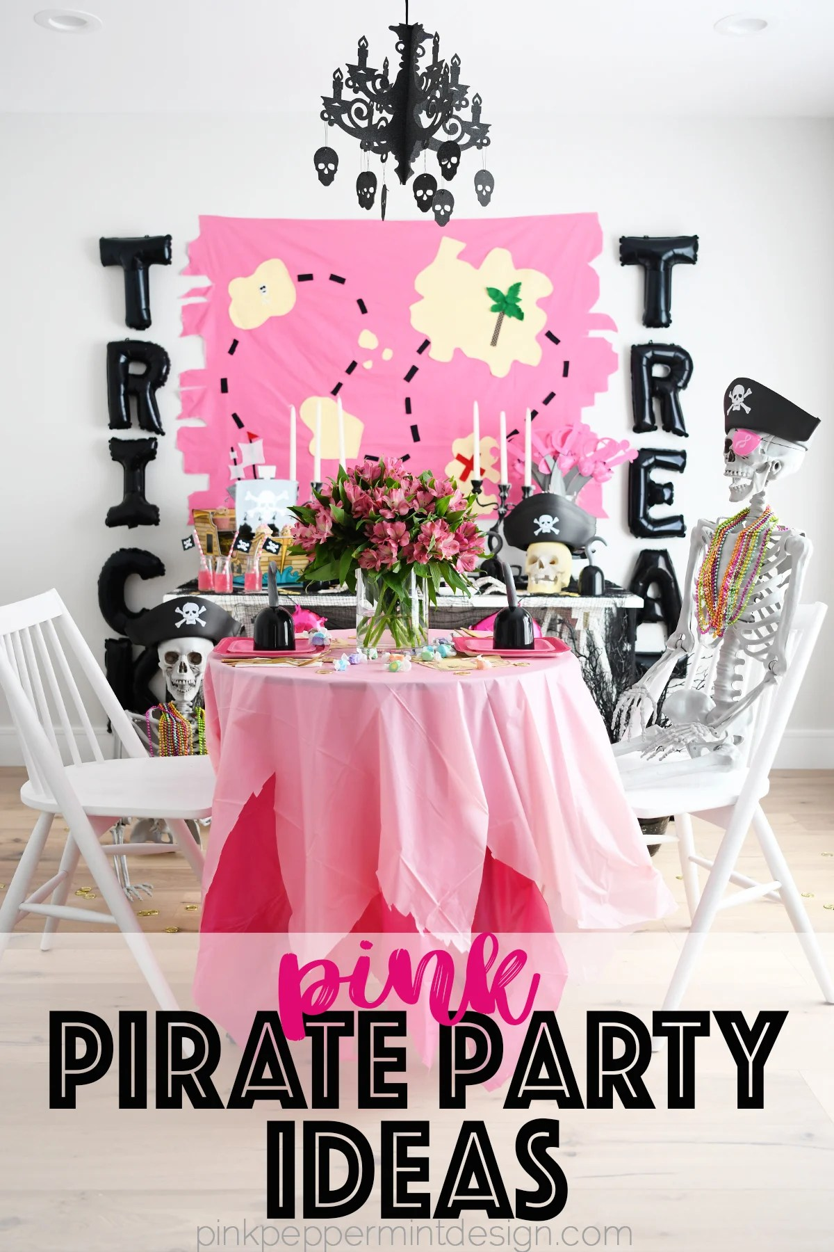 Pirate Party Ideas : Trick ARRR Treat Pirate Halloween Party