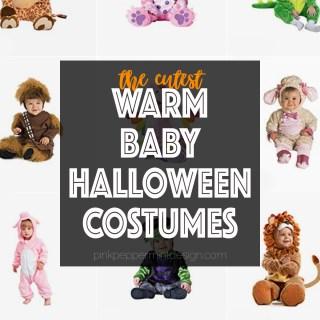Warm baby halloween costumes