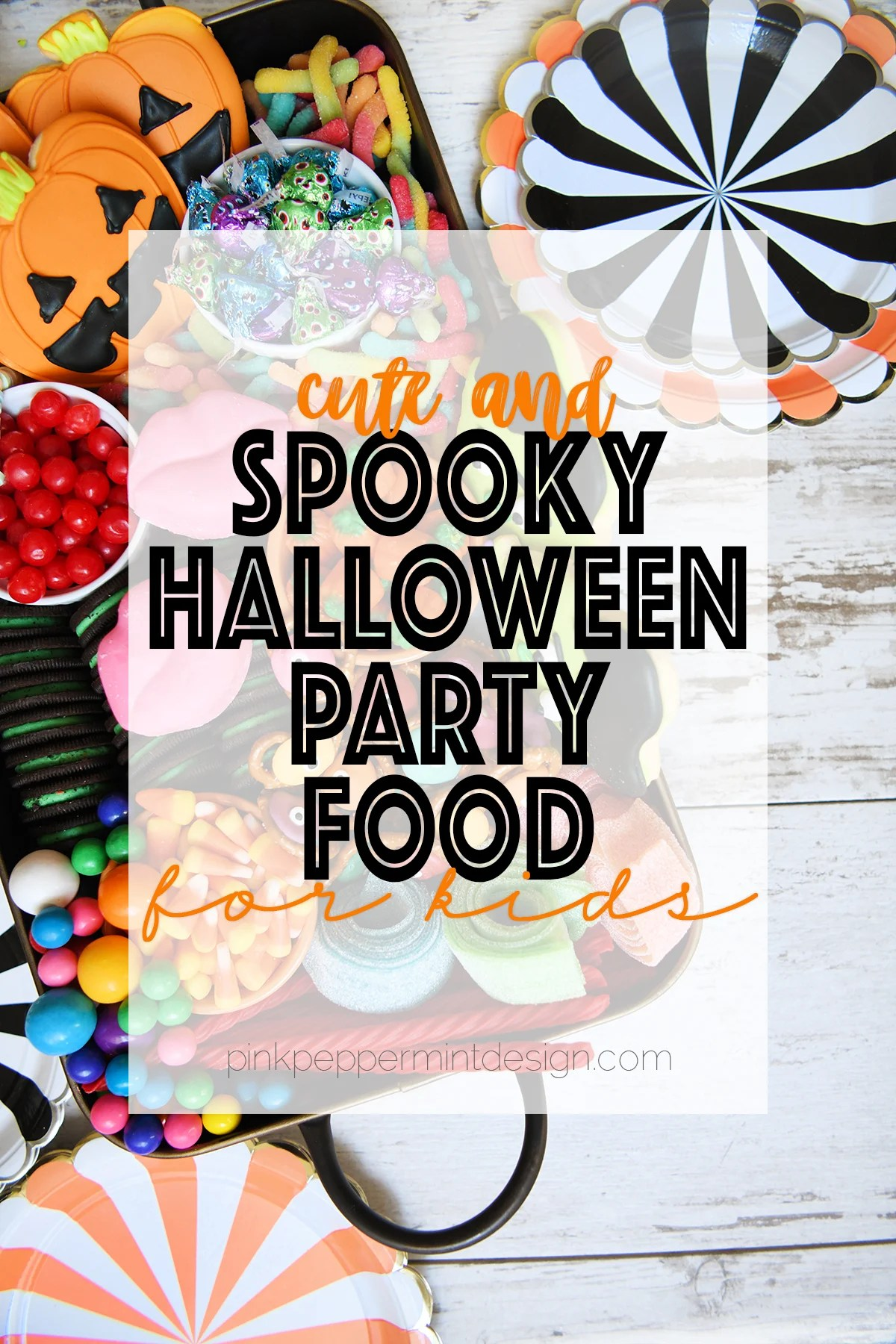 Spooky halloween party food