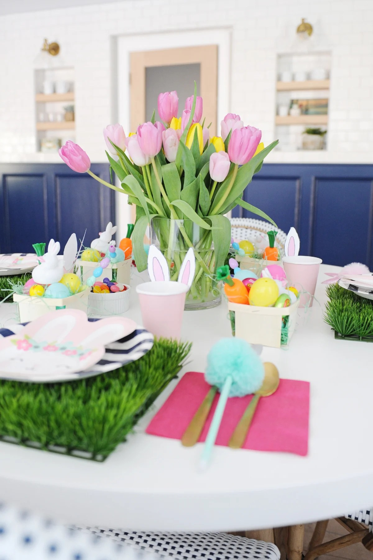 Kids easter table decorating ideas 3