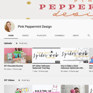 Pink Peppermint Design's YouTube Channel