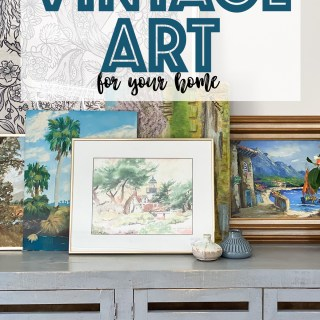 Affordable vintage art