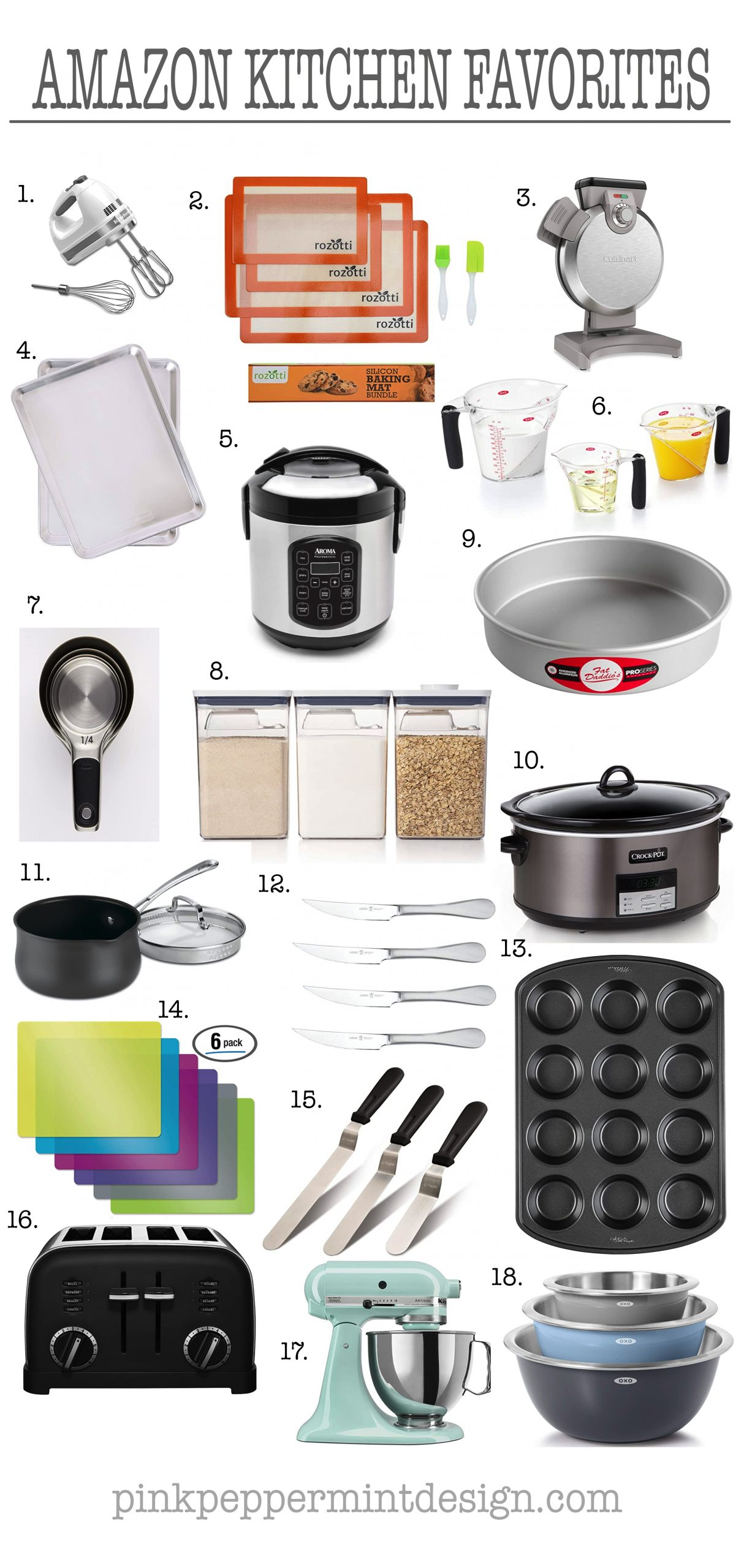 Favorite Amazon Kitchen Products