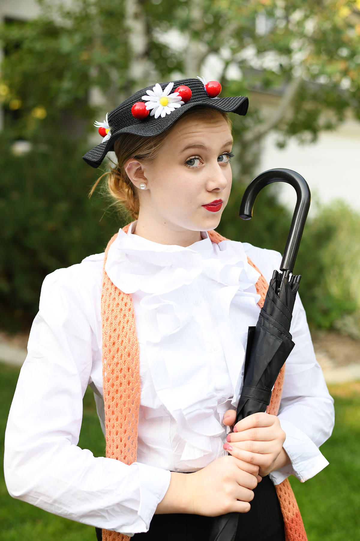 Diy disney mary poppins costume 1