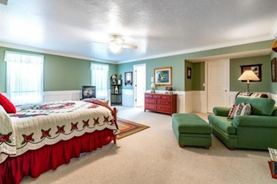 modern master bedroom makeover