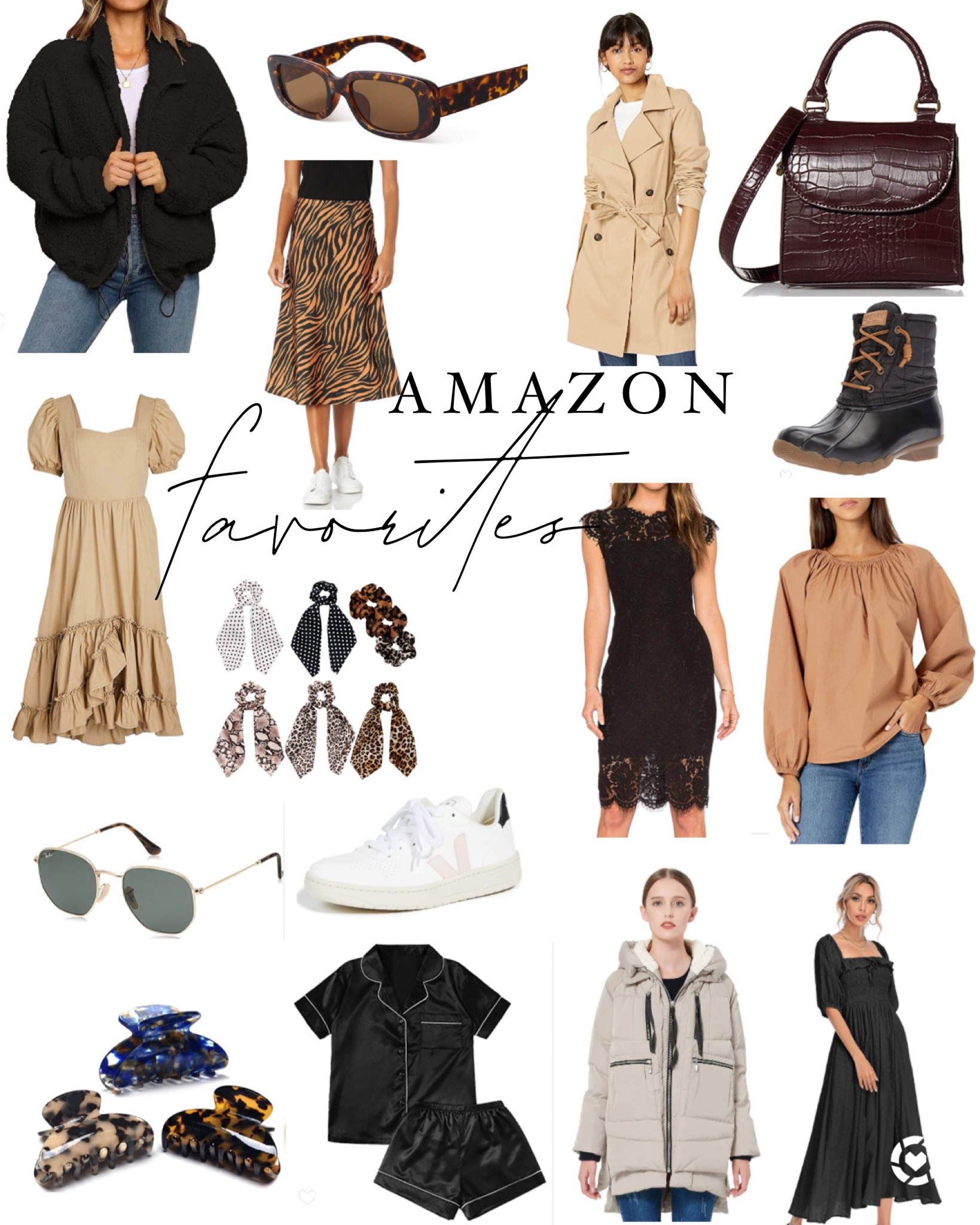 Amazon Fashion Favorites – Cozy and Neutral