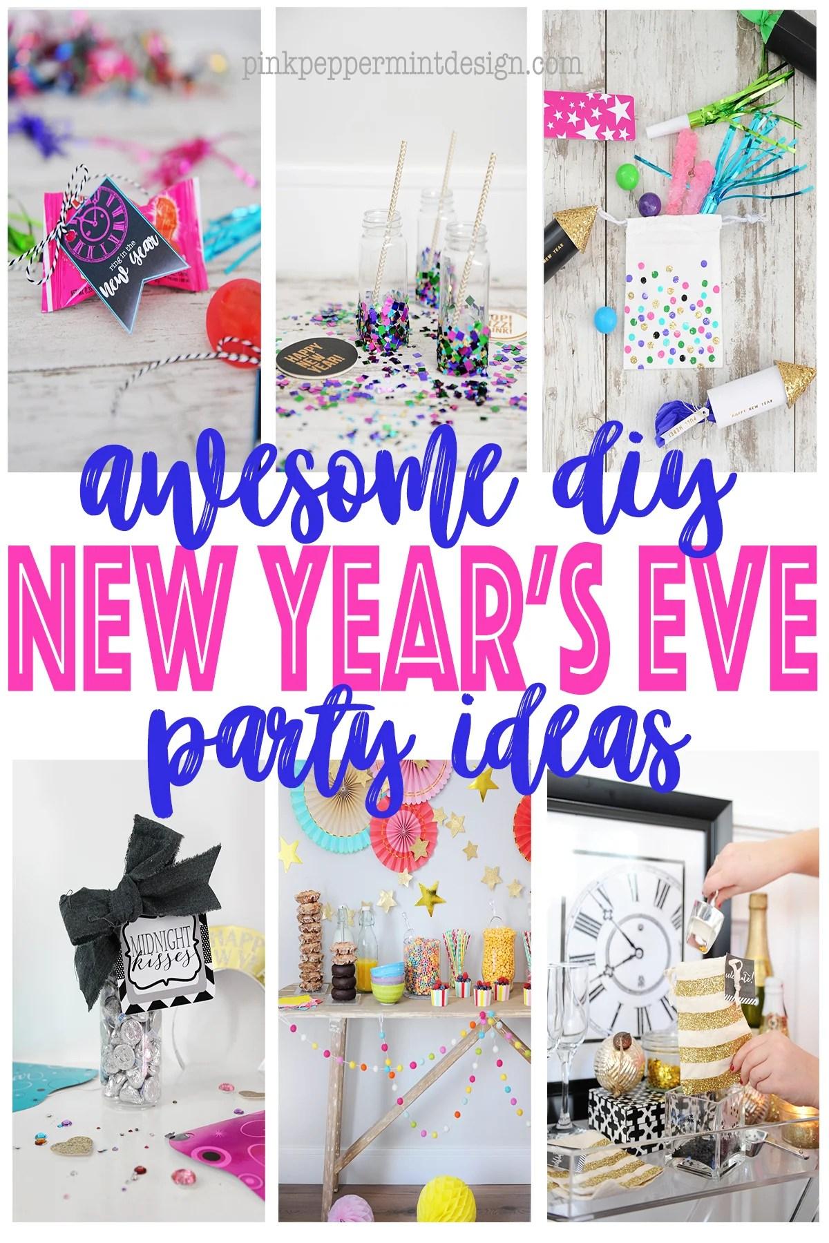 10 Fun DIY New Year's Eve Ideas
