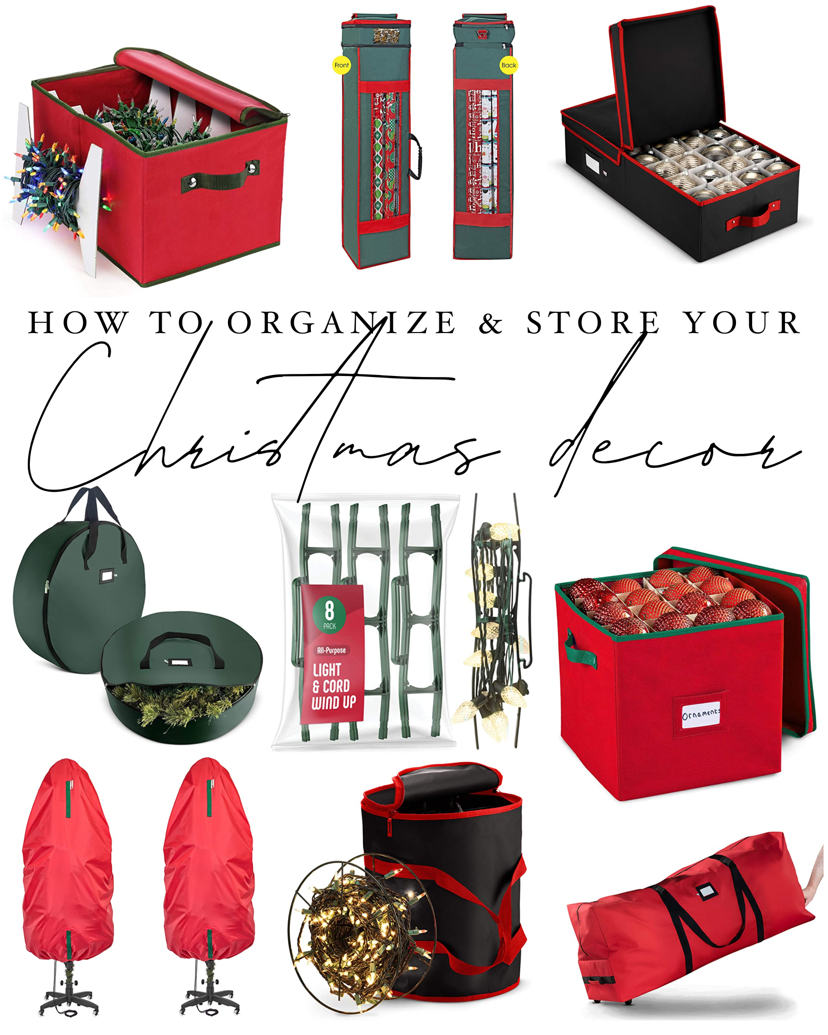 How to Organize & Store Your Christmas Decorations