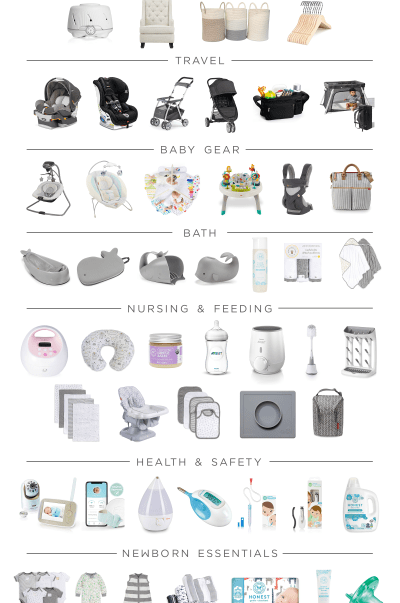 Must Have Baby Registry List