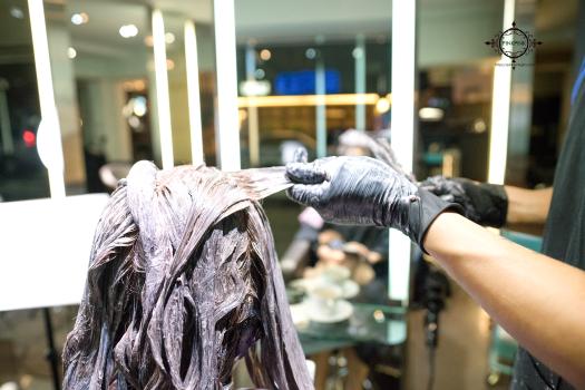 夏森護髮、貼片式接髮、台中護髮、染髮推薦