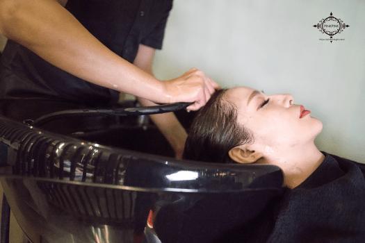 夏森護髮、貼片式接髮、台中護髮、頭皮按摩