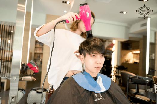 夏森髮型、台中剪髮、男士剪髮、男士油頭、Undercut、男士染髮、All Back