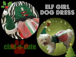 ELF-GIRL DOG DRESS