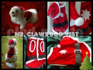mr claws dog vest