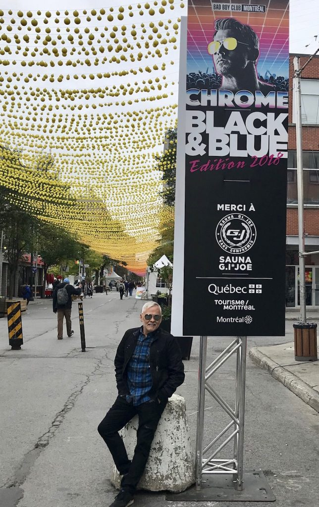 Black Blue Party Montreal And