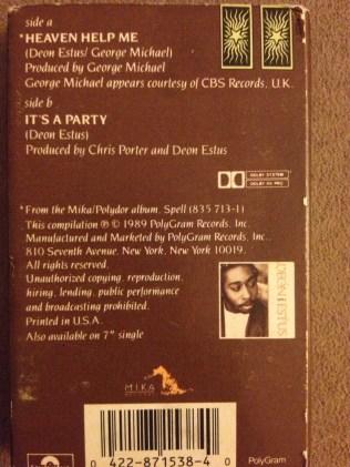 Cassette Single Backside