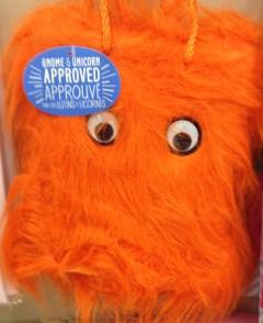 furry orange monster