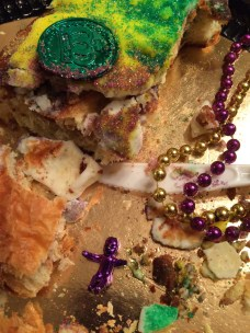King Cake and baby