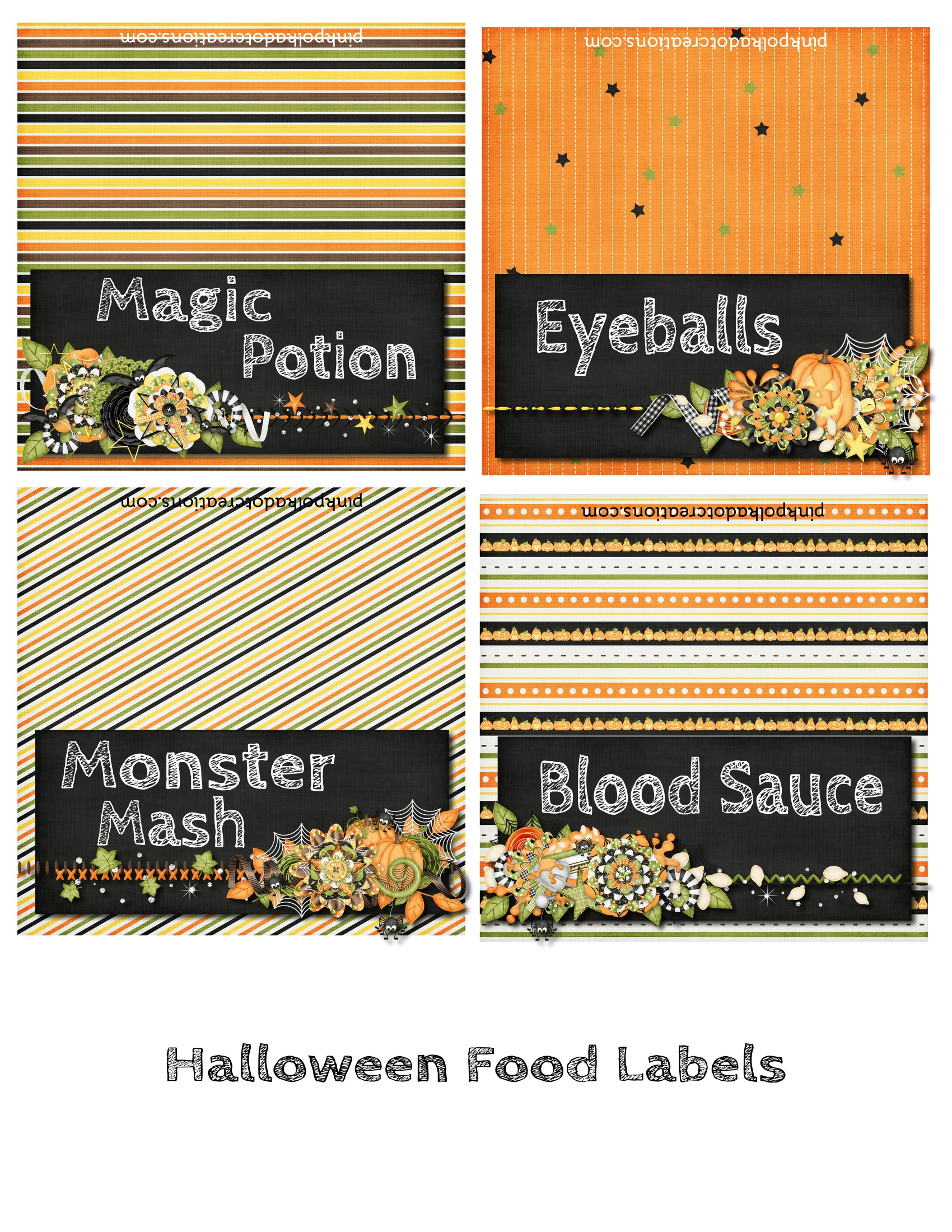 Halloween Party And Free Printables