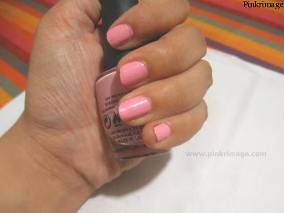 OPI pink nail polish review