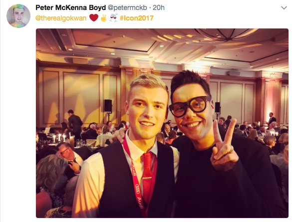 Peter and Gok Wan