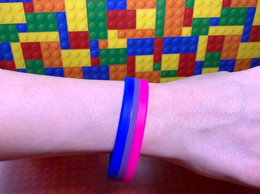 Bisexual Silicon Wristband