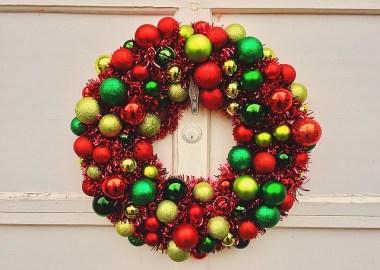 Bauble Christmas Wreaths