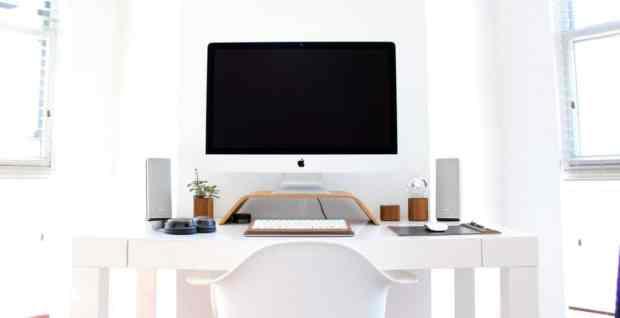 White Desk
