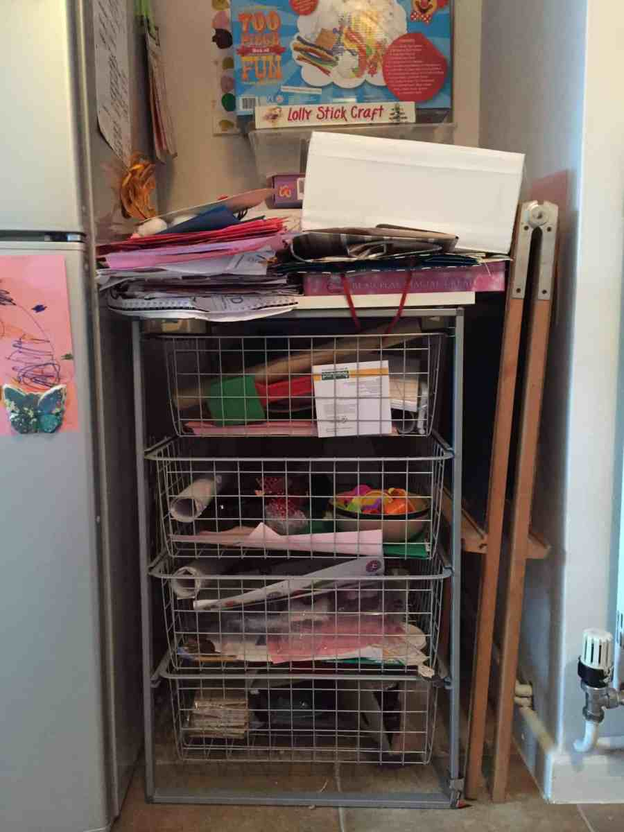 Chaotic craft and junk modelling storage