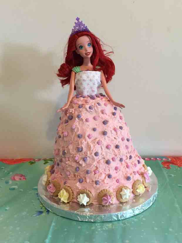 How Much Icing For Doll Cake