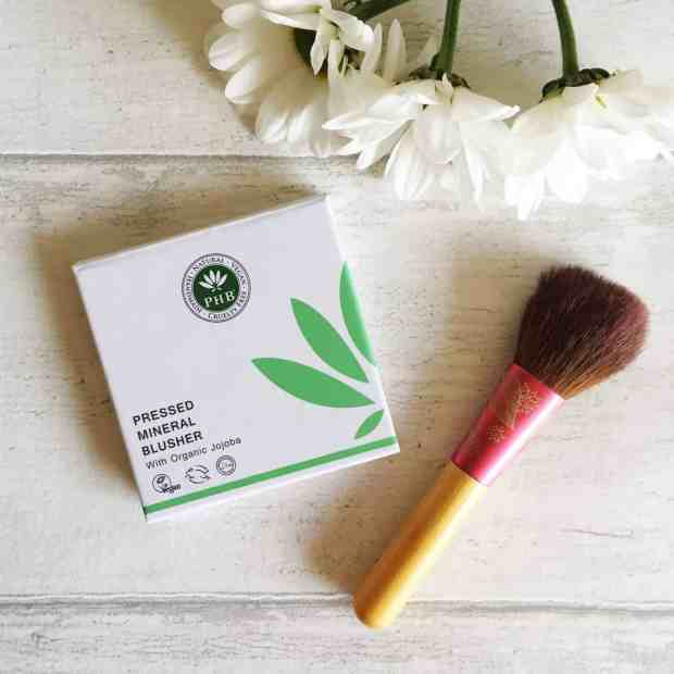 Packaging of PHB Ethical Beauty Pressed Mineral Blusher in Camellia