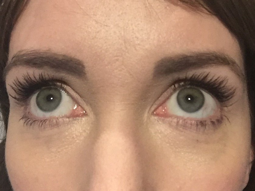 PHB Ethical Beauty Mascara after a steam room and sauna