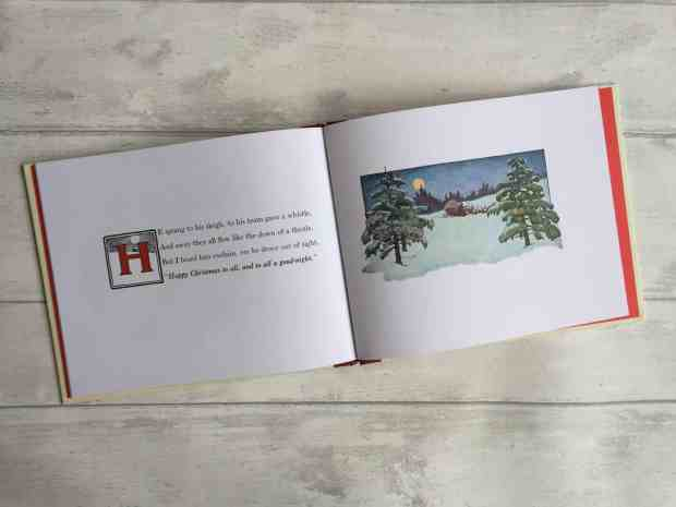 Pages from 'Twas the Night Before Christmas