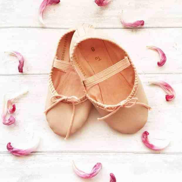 Mini ballet shoes