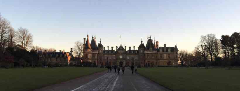 Waddesdon Manor in winter