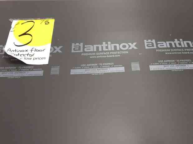 Antinox floor covering for our kitchen refit