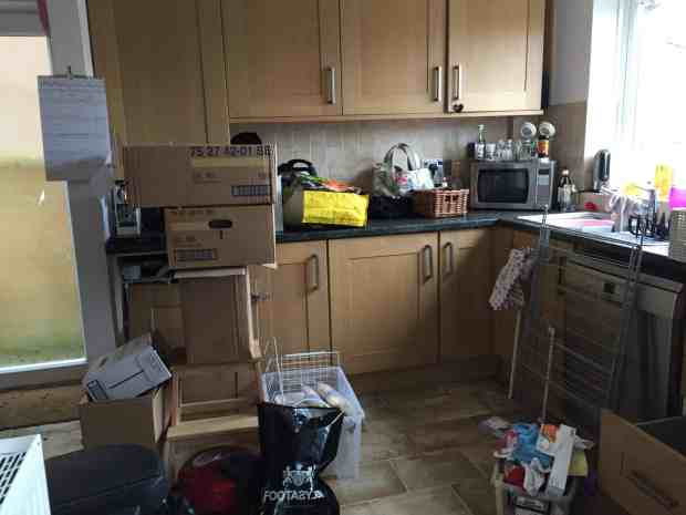 We hate our kitchen but think we might miss it as we live without a kitchen