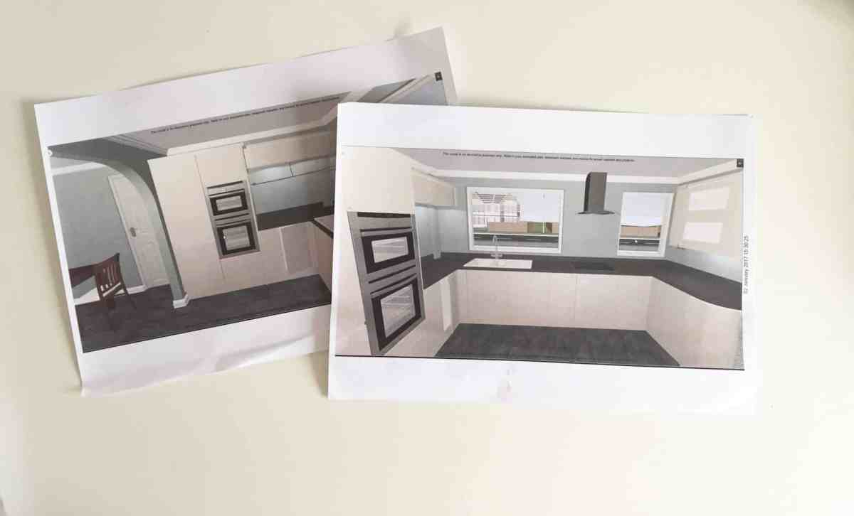 Planning Our New Monochrome Kitchen
