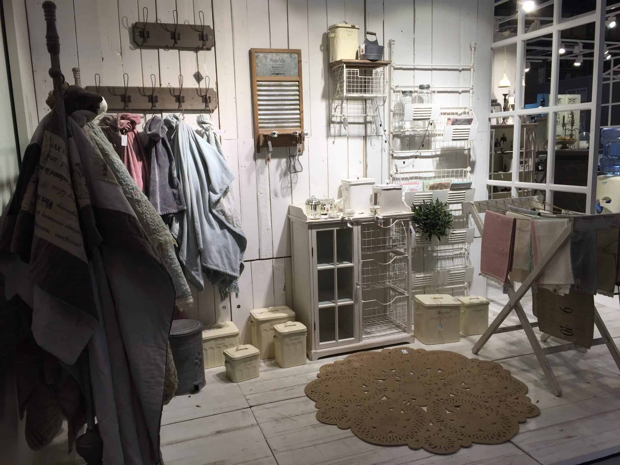 Utility room set at the Spring Fair