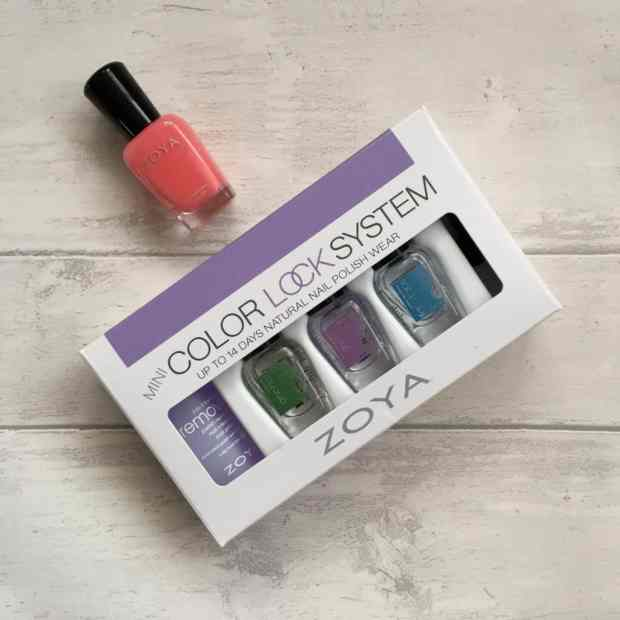 Zoya Natural Nail Polish Mini Color Lock System